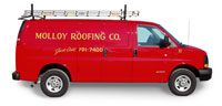 Molloy Roofing Truck