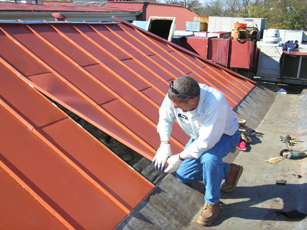 Commercial industrial and institutional roofing for for Custom home builder selection sheet